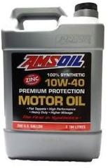 AMSOIL Synthetic V-Twin Motorcycle Oil 20W50 Масло мотоцик. (3.784л)