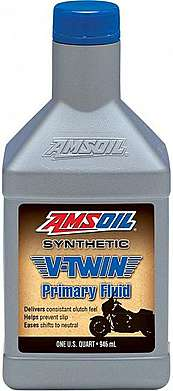 AMSOIL Масло транс Synthetic V-Twin Primary Fluid (0.946л)
