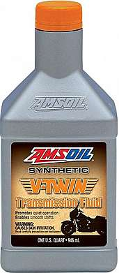 AMSOIL Масло транс V-Twin Synthetic Transmission Fluid (0.946л)