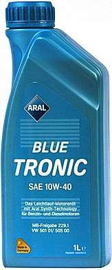 Aral масло мотор BlueTronic SAE 10W-40 (1л)