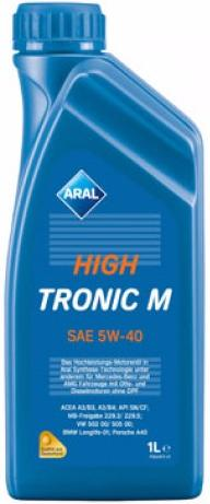 Aral масло мотор HighTronic SAE 5W-40 (1л)