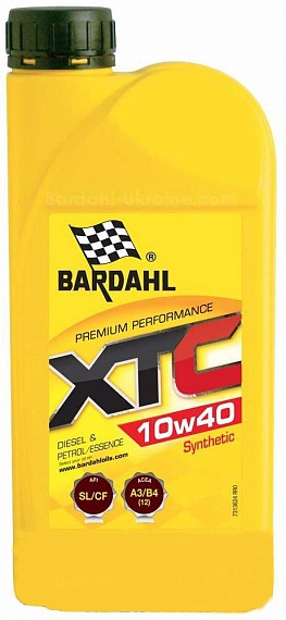 BARDAHL XTC 10W40 Моторное масло (1л)