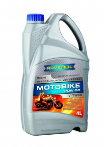 RAVENOL Моторное масло Motobike V-Twin SAE 20W-50 Mineral (4л) new
