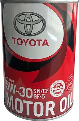 Toyota Motor Oil SN 5W30 Масло мотор. (1л)