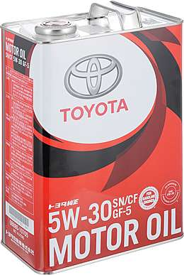 Toyota Motor Oil SN 5W30 Масло мотор. (4л)