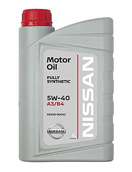 Nissan Motor Oil FS 5W40 A3/B4 Моторное масло (1л)