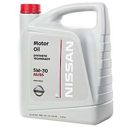 Nissan Motor Oil 5W30 FS A5/B5 Моторное масло (5л)