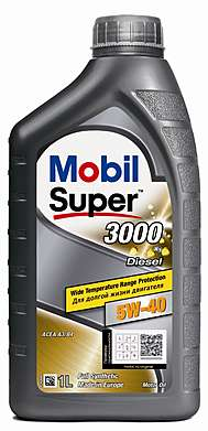Mobil Super 3000 X1 DIESEL 5W-40 Моторное масло (1л)