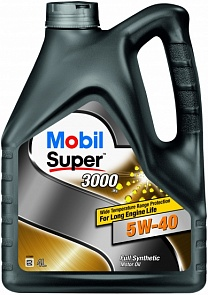 Mobil Super 3000 X1 5W-40 Моторное масло (4л)