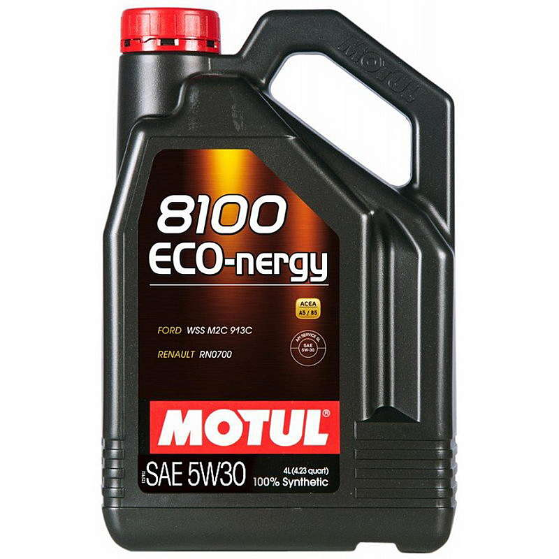 Motul Eco-nergy 8100 5W30 A5/B5 Масло мотор. (4л)