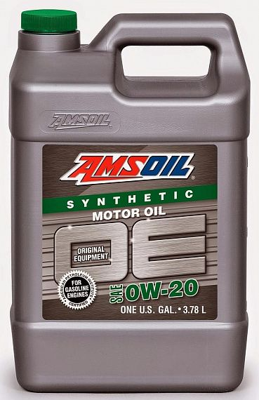 Моторное масло AMSOIL OE Synthetic Motor Oil SAE 0W-20 (3,78л)