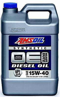 Моторное масло AMSOIL OE Synthetic Diesel Oil SAE 15W-40 (3,784л)