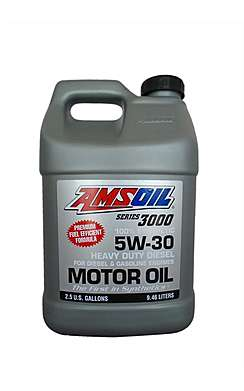 Моторное масло AMSOIL Series 3000 Synthetic Heavy Duty Diesel Oil SAE 5W-30  (9,460л)