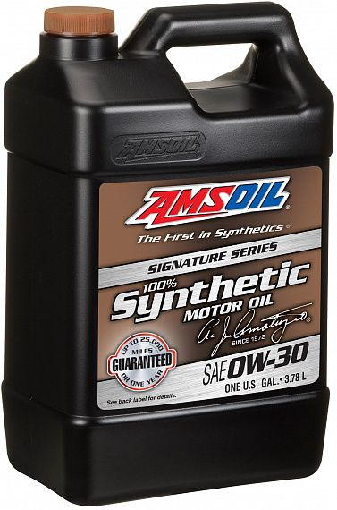 Моторное масло AMSOIL Signature Series Synthetic Motor Oil SAE 0W-30 (3,78л)