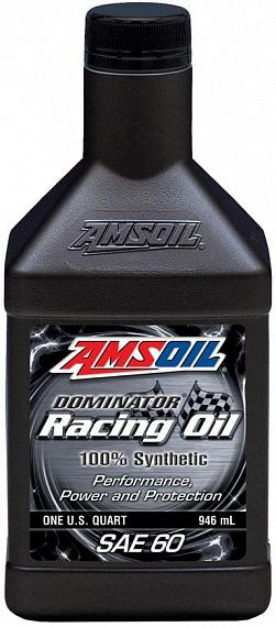 Моторное масло AMSOIL DOMINATOR® Synthetic Racing Oil SAE 60 (0,946л)
