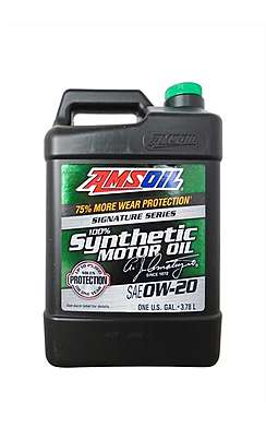 Моторное масло AMSOIL Signature Series Synthetic Motor Oil SAE 0W-20 (3,78л)