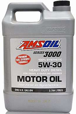 Моторное масло AMSOIL Series 3000 Synthetic Heavy Duty Diesel Oil SAE 5W-30  (3,78л)