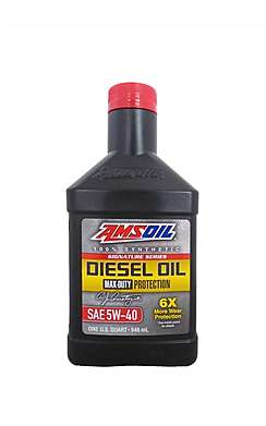 Моторное масло AMSOIL Signature Series Max-Duty Synthetic Diesel Oil 5W-40 (0,946л)