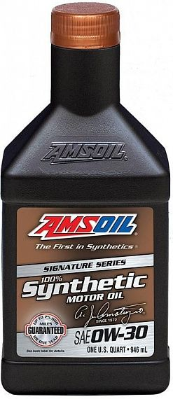 Моторное масло AMSOIL Signature Series Synthetic Motor Oil SAE 0W-30 (0,946л)