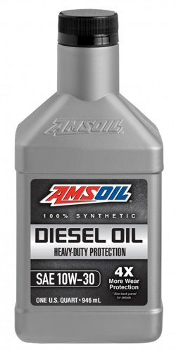 Моторное масло AMSOIL Heavy-Duty Synthetic Diesel Oil SAE 10W-30 (0,946л)