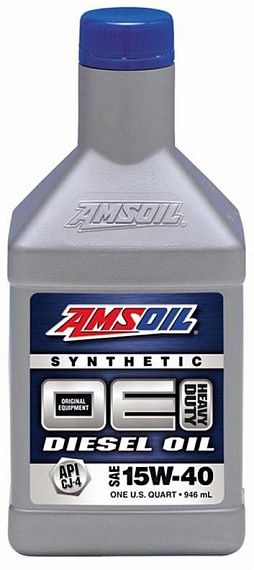 Моторное масло AMSOIL OE Synthetic Diesel Oil SAE 15W-40 (0,946л)