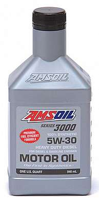 Моторное масло AMSOIL Series 3000 Synthetic Heavy Duty Diesel Oil SAE 5W-30 (0,946л)