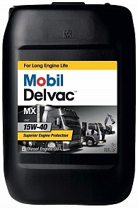 Mobil Delvac MX 15W-40 Моторное масло (20л)