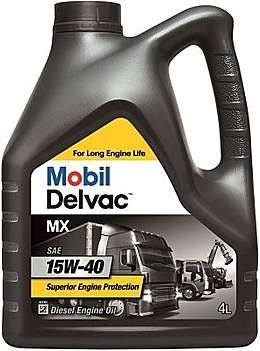 Mobil Delvac MX 15W-40 масло мотор. (4л.)