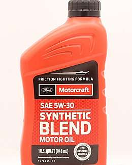 FORD Motorcraft Full Synthetic 5W-30 Масло моторное полусинтетика 5W-30 0.946 л.