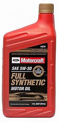FORD Motorcraft Premium Synthetic Blend 5W-20 Масло моторное синтетика 5W-20 0.946 л.