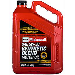 FORD Motorcraft Full Synthetic 5W-30 Масло моторное полусинтетика 5W-30 4.73 л.