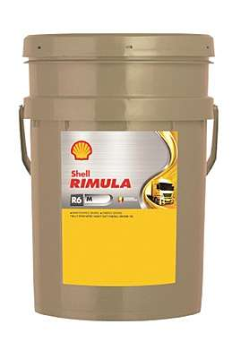 Shell Rimula R6 M 10W-40 масло моторное 20л.
