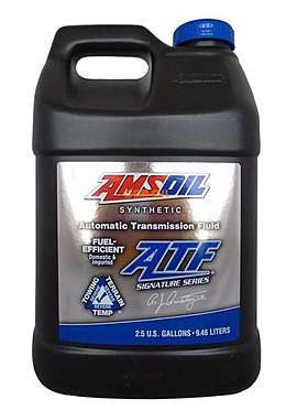 AMSOIL Signature Series Fuel-Efficient Synthetic Automatic Transmission Fluid (ATF) (9.46л)
