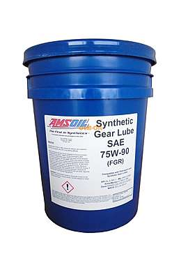 AMSOIL Масло трансмиссионное Synthetic Long Life Gear Lube SAE 75W-90 (18,9л)