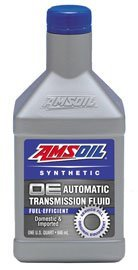 AMSOIL Масло трансмиссионное OE Synthetic Fuel-Efficient Automatic Transmission Fluid (ATF) (0,946л)