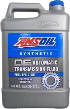 AMSOIL Масло трансмиссионное OE Synthetic Fuel-Efficient Automatic Transmission Fluid (ATF) (3,78л)