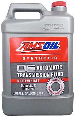 AMSOIL Масло трансмиссионное OE Synthetic Multi-Vehicle Automatic Transmission Fluid (ATF) (3,78л)