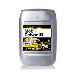 Mobil Delvac 1 5W-40 Масло мотор. диз. (20 л.)