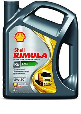 Shell Rimula R6 LME 5W-30 (4 л) Моторное дизельное масло