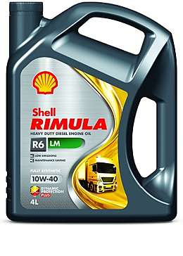 Shell Rimula R6 LM 10W-40 (4 л) Моторное дизельное масло