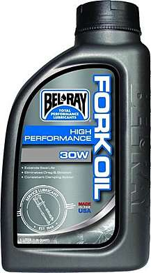 BEL-RAY Масло вилочное High Performance Fork Oil 30W (1л)
