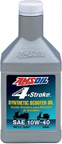 AMSOIL Масло мотор 4Т Formula 4-stroke Synthetic Scooter Oil 10W40 (0.946л)
