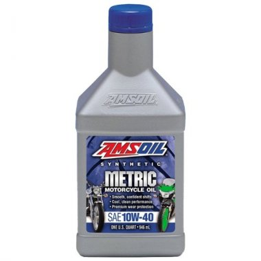 AMSOIL Масло мотор Synthetic Motorcycle Oil 10W40 (0.946л)