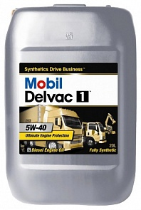Масло моторное Mobil Delvac 1 5W-40 20л.