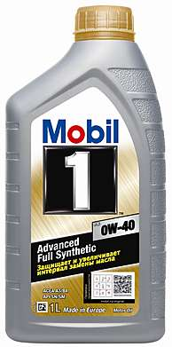 Mobil 1 New Life 0W-40, Мас мот син , (1л)