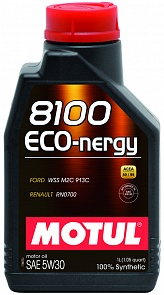 Motul Масло моторн. синт Eco-nergy 8100 5W30  A5/B5 (1л)