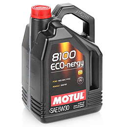 Motul Масло моторн. синт Eco-nergy 8100 5W30  A5/B5 (5л)